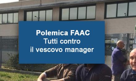 Polemica FAAC. Il vescovo manager chiude a Bergamo per aprire in Bulgheria