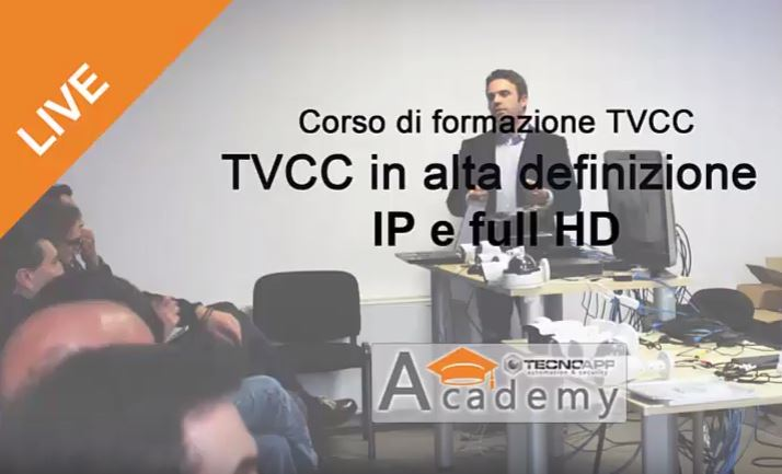 Presentazione Corso di formazione in TVCC 2012