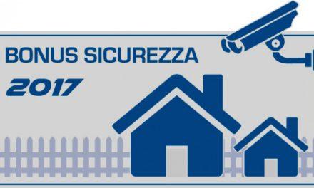 Bonus Fiscale 2017 per ristrutturazioni edilizie e sistemi di sicurezza