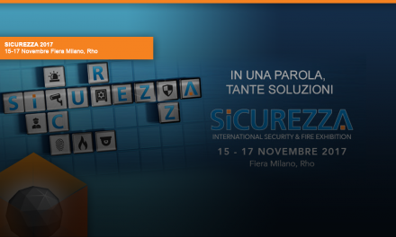 SICUREZZA 2017 15-17 Novembre Fiera Milano, Rho