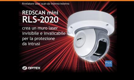 RLS-2020S RIVELATORE LASER SCAN
