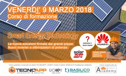 Corso di formazione inverter e ottimizzatori di potenza per impianti fotovoltaici