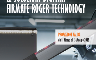 TARGET 2018 Promozione ROGER TECHNOLOGY