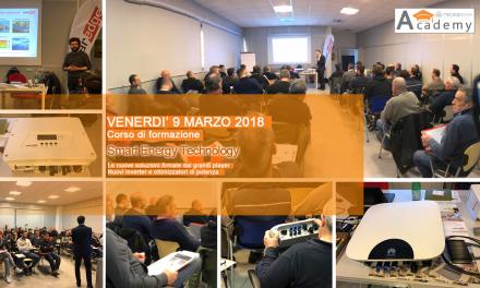Grande successo per il Corso Smart Energy Technology -Marzo 2018 – Tutte le immagini