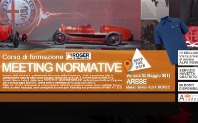 Corso di formazione MEETING ROGER – Museo storico Alfa Romeo