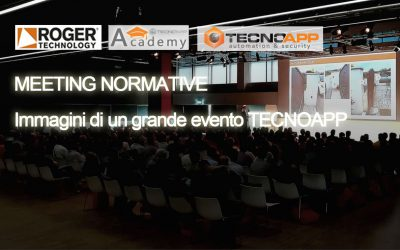 MEETING NORMATIVE ROGER TECHNOLOGY – Le immagini