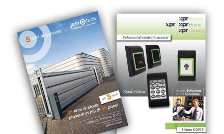 Nuovo listino JCM technologies e XPR Italia