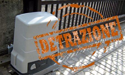 Automazione di un cancello e detrazioni fiscali. Una piccola guida