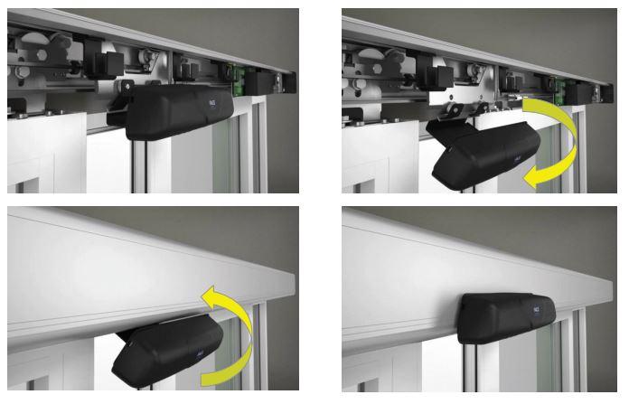 Porte automatiche scorrevoli FACE - sistema di supporto