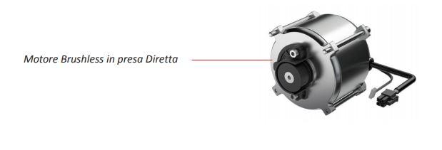 Motore Brushless in presa Diretta - FACE