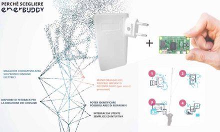 EnerBUDDY è un sistema di monitoraggio dei consumi elettrici, facile e a basso costo.