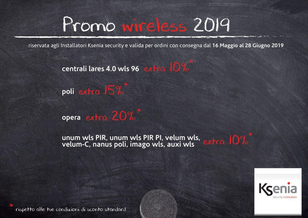 Promo KSENIA wireless 2019