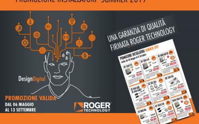 PROMOZIONE INSTALLATORI SUMMER 2019 – ROGER TECHNOLOGY