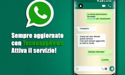Ricevi le migliori proposte via WhatsApp: è semplice e gratuito!
