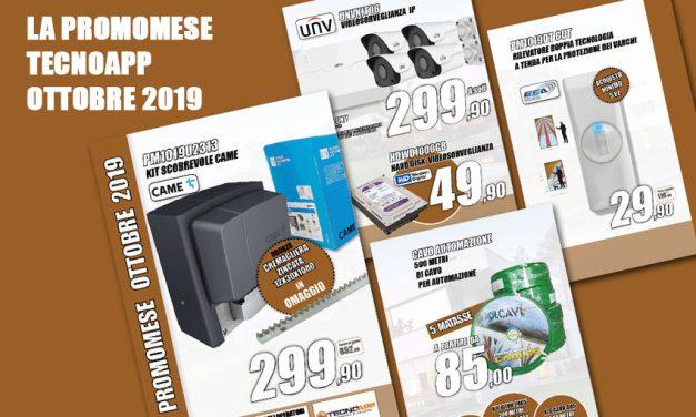 PROMOZIONE TECNOAPP OTTOBRE 2019