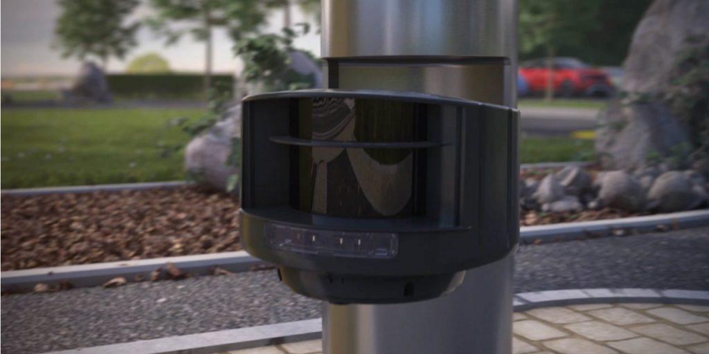 Installazione del prodotto senza alcun impatto sull'ambiente circostante, semplice delimitazione dei campi di rilevazione in modo indipendente l'uno dall'altro, camminando davanti al sensore.