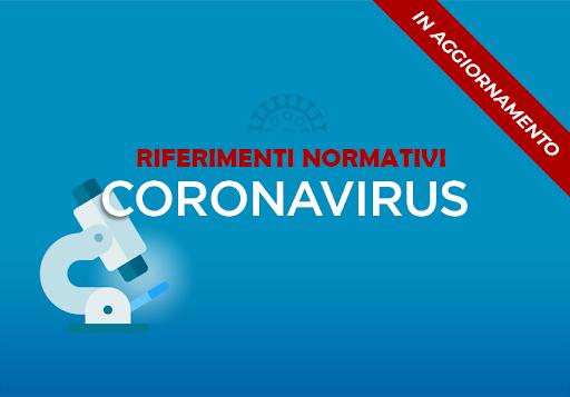Sicurezza Covid19. Quadro di riferimento normativo