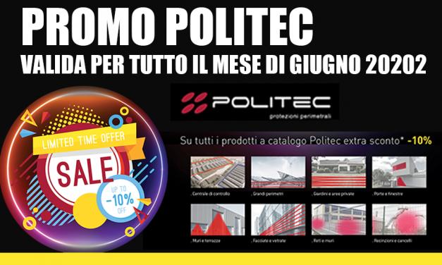 Promozione Politec giugno 2020
