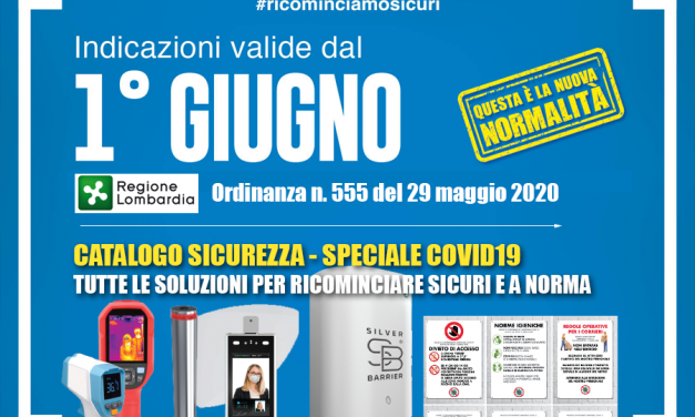 Catalogo sicurezza – Speciale COVID19