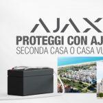 Proteggi con Ajax una seconda casa o una casa vuota senza luce