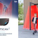 Il LZR®-FLATSCAN 3D SW è il primo rilevatore volumetrico dedicato alle porte battenti.